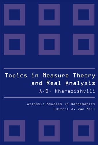 9789078677208: Topics in Measure Theory and Real Analysis: 2 (Atlantis Studies in Mathematics)