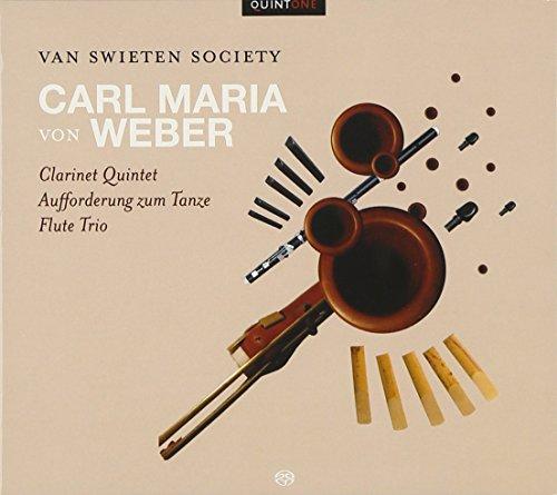 9789078740124: Quintette pour clarinette Op.34, Trio avec flûte Op.63, Invitation à la valse Op.65
