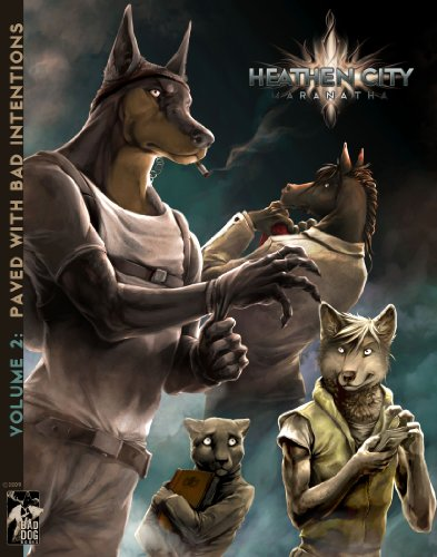 9789079082124: Heathen City Volume 2: Paved with Bad Intentions