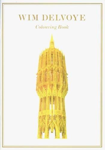 9789079541027: Wim Delvoye - Colouring Book