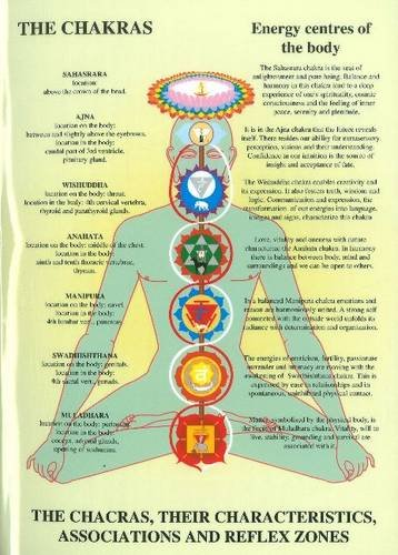 9789079887323: Chakras: Their Characteristics, Associations and Reflexzones