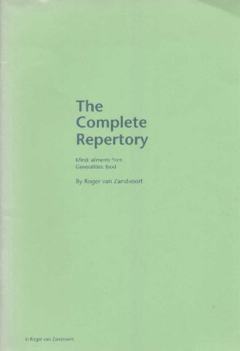 9789080187870: Complete Repertory - Volume 1 - Mind, 3rd edition (paperback)