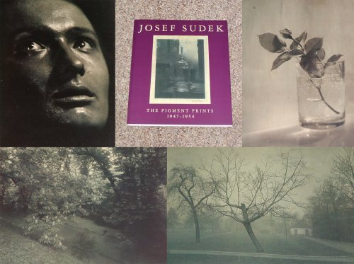 9789080269415: Josef Sudek: The Pigment Prints, 1947-1954