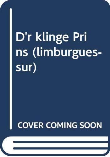 9789080354012: D'r klinge Prins (limburgués-sud)