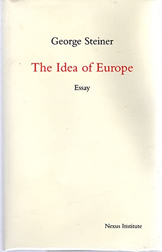9789080485754: The Idea of Europe