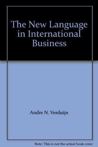The New Language in International Business : Simplified English 2nd Edition