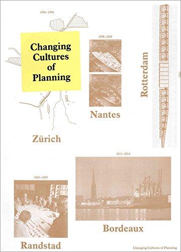 9789081953504: Changing Cultures of Planning: Rotterdam, Zürich, Nantes, Randstad, Bordeaux