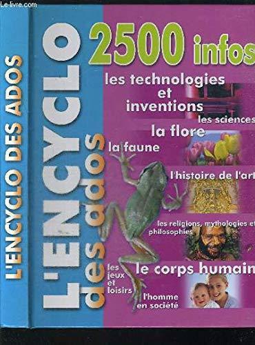 9789085450399: L'encyclo des ados