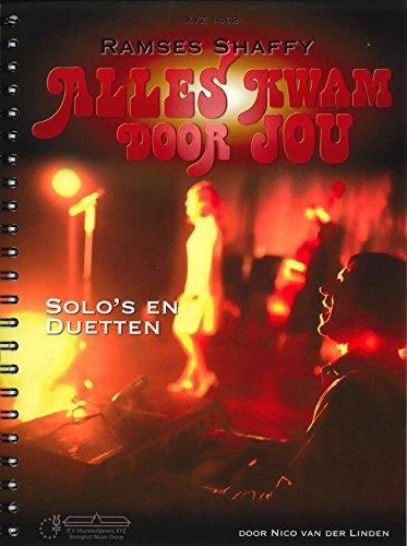 9789086023875: Ramses Shaffy: Alles Kwam Door Jou - Piano, Vocal and Guitar - Book
