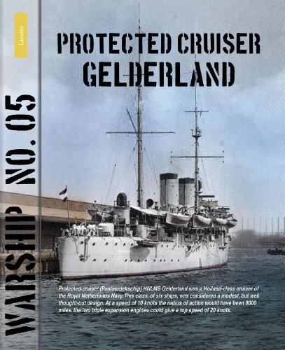 9789086161959: Protected cruiser Gelderland (Warship)