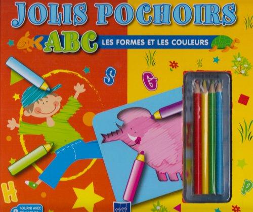 9789086225958: ABC Les formes et les couleurs : Jolis pochoirs
