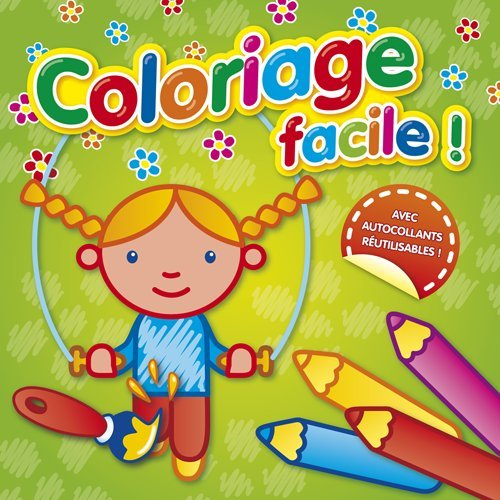9789086228652: Coloriage facile ! (corde à sauter)