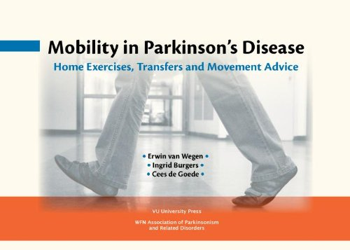 9789086594986: Mobility in Parkinson's Disease: Home Exercises, Transfers and Movement Advice