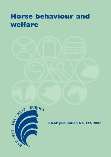 9789086860333: Horse Behaviour and Welfare (EAAP Scientific Series)