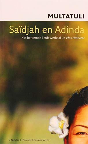 9789086960149 Saïdjah En Adinda Leeslicht Abebooks