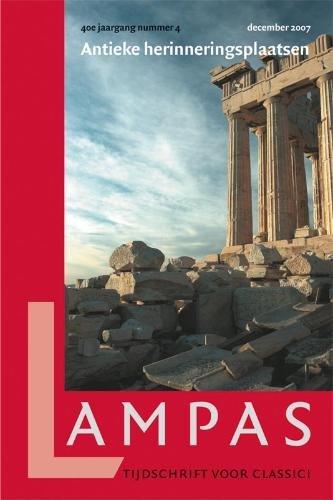 LAMPAS, Themanummer: Antieke herinneringsplaatsen (40,4).