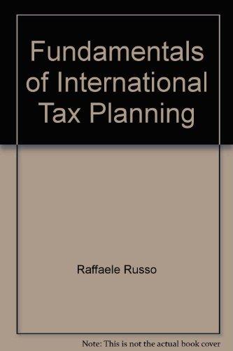 9789087220167: Fundamentals of International Tax Planning