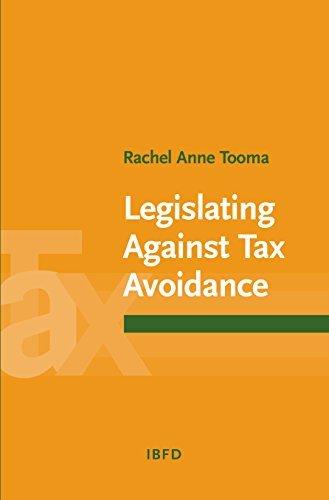 9789087220341: Legislating Against Tax Avoidance