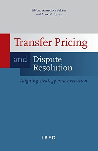 9789087221003: Transfer Pricing and Dispute Resolution: Aligning Strategy and Execution
