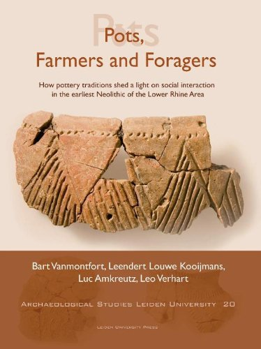 9789087280864: Pots, Farmers and Foragers: How Pottery Traditions Shed a Light on Social Interaction in the Earliest Neolithic of the Lower Rhine Area (Archaeological Studies Leiden University Press)
