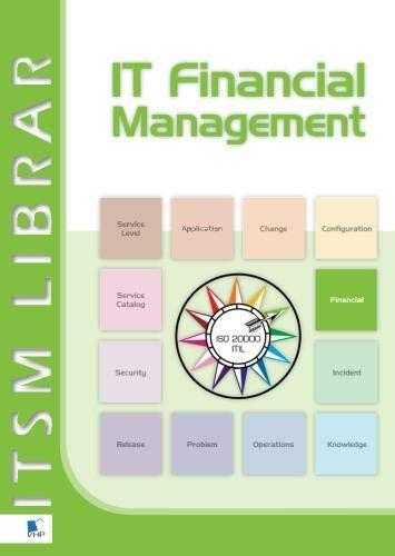 9789087535018: IT financial management: best practice