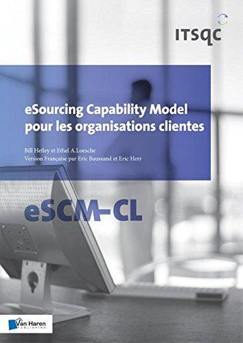 Esourcing Capability Model Pour les Organisations Clientes - ESCM-Cl (Paperback): Eric Herr