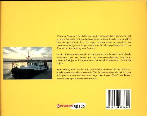 9789087880620: Varen in Duitsland (Motorboot op reis)