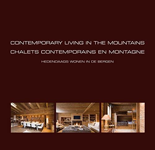 9789089440877: Chalets contemporains en montagne