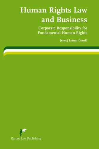 9789089520814: Human Rights Law and Business: Corporate Responsibility for Fundamental Human Rights