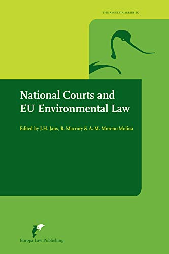 9789089521286: National Courts and EU Environmental Law (Avosetta Series)