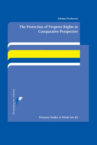 The Protection of Property Rights in Comparative Perspective: A Study on the Interaction Between ...