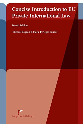 9789089522085: Concise Introduction to EU Private International Law: Fourth Edition