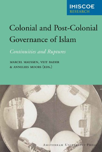 Colonial and Post-Colonial Governance of Islam: Continuities and Ruptures (Paperback): Veit Bader, ...