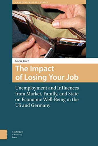 9789089648051: The Impact of Losing Your Job: Unemployment and Influences from Market, Family, and State on Economic Well-Being in the US and Germany (Changing Welfare States)