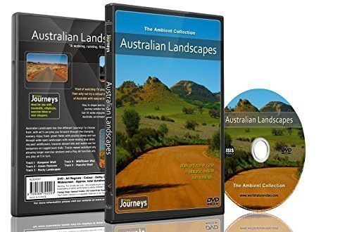 9789089702289: Fitness Journeys - Australian Landscapes , for indoor walking, treadmill and cycling workouts