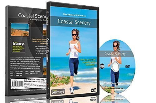 9789089702296: Fitness Journeys - Coastal Scenery ,for indoor walking, treadmill and cycling workouts