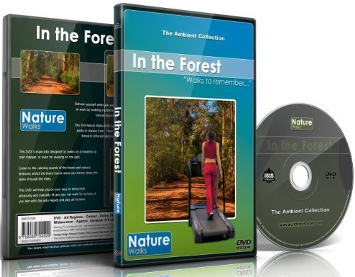 9789089704511: Nature Walks - In the Forest - for indoor walking, treadmill and cycling workouts
