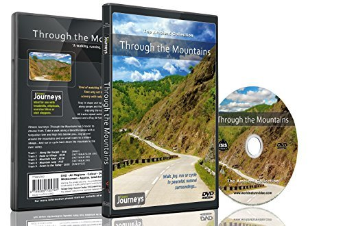 9789089705792: Fitness Journeys -Through the Mountains, for indoor walking, treadmill and cycling workouts