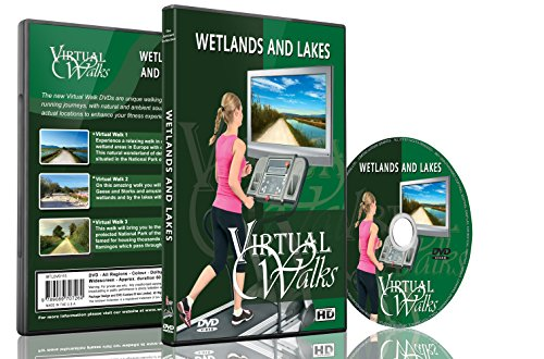 9789089707260: Virtual Walks - Wetlands & Lakes for indoor walking, treadmill and cycling workouts