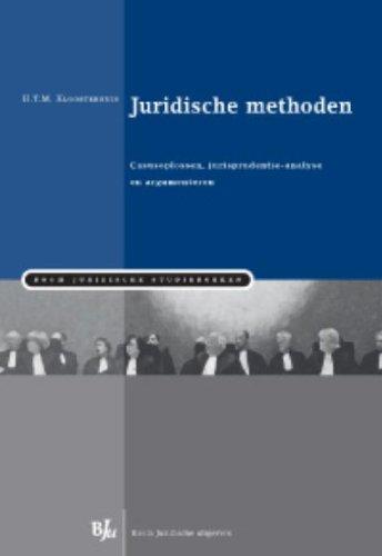 Juridische methoden.: Kloosterhuis, H.