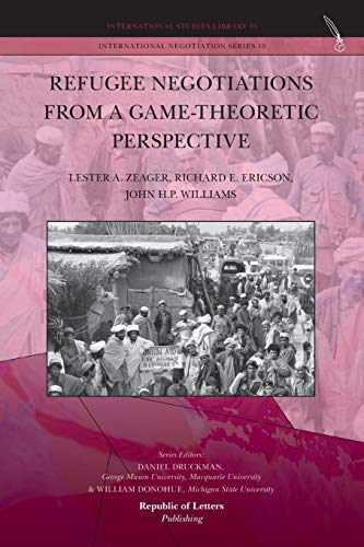 9789089791160: Refugee Negotiations from a Game-Theoretic Perspective