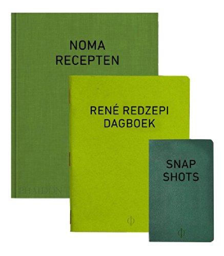 9789089896063: Noma: a work in progress: recepten, dagboek en snapshots van René redzepi