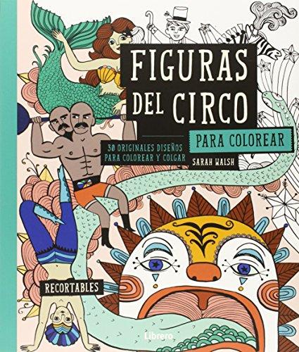 9789089985132 Figuras Del Circo Para Colorear 30 Originales