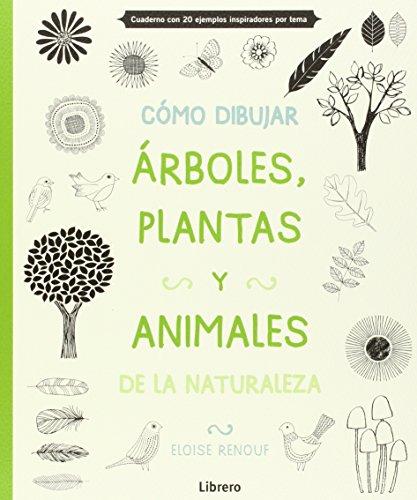 9789089985163: Cómo dibujar, arboles, plantas y animales