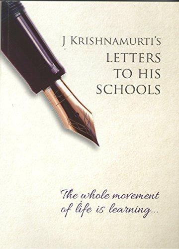 The Whole Movement of Life is Learning: Krishnamurti, J.