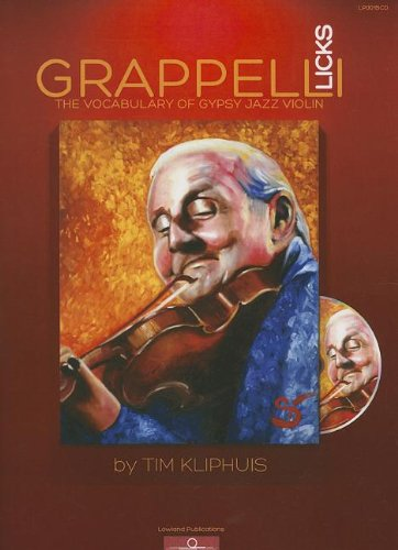 9789090271750: Grappelli Licks: The Vocabulary of Gypsy Jazz