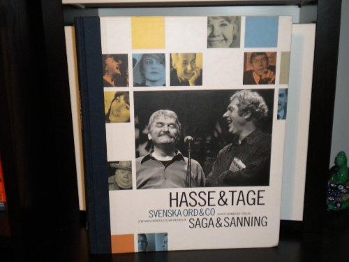9789100103996: Hasse & Tage (Svenska Ord & Co.)