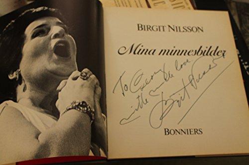 Mina minnesbilder (Swedish Edition): Nilsson, Birgit