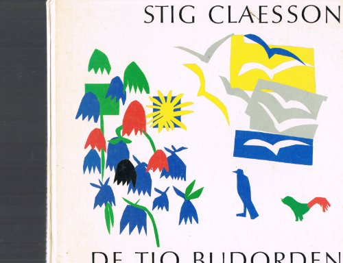 9789100457846: De tio budorden (Swedish Edition)