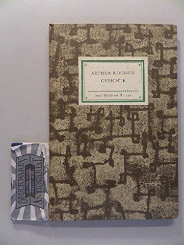 9789100567194 Gedichte Arthur Rimbaud Aus Dem